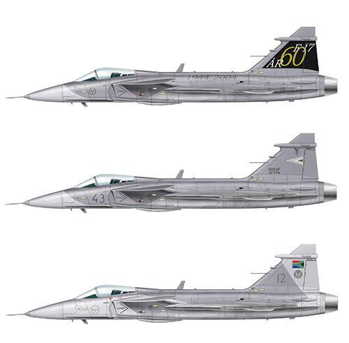 JAS 39 Gripen - 1/72 - Italeri 1306  - BLIMPS COMÉRCIO ELETRÔNICO