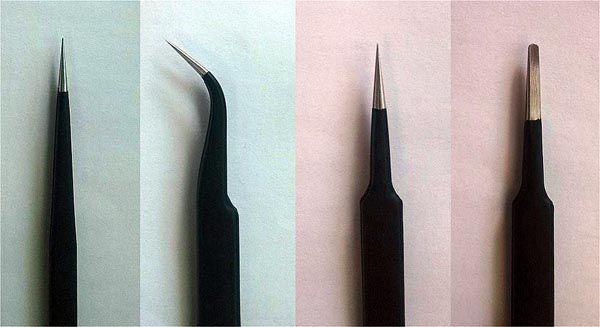 Jogo de 4 pinças de aço - Master Tools 09957  - BLIMPS COMÉRCIO ELETRÔNICO