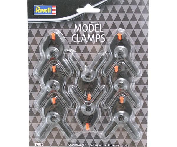 Jogo de 8 grampos para modelismo - Revell 39070  - BLIMPS COMÉRCIO ELETRÔNICO