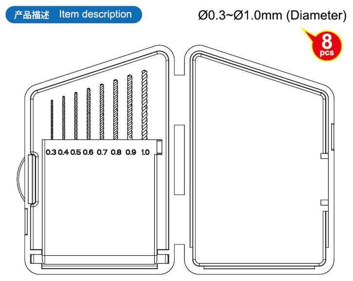 Jogo de brocas helicoidais - Master Tools 09954  - BLIMPS COMÉRCIO ELETRÔNICO