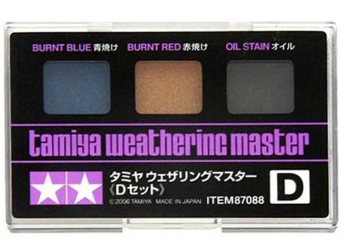 Jogo para ambientação e detalhamento - Set D - Tamiya 87088  - BLIMPS COMÉRCIO ELETRÔNICO