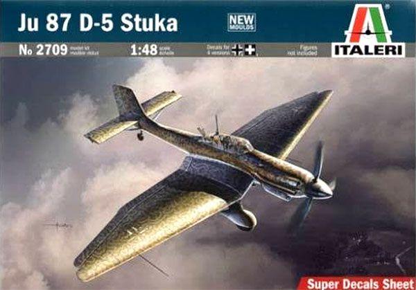 Ju 87 D-5 Stuka - 1/48 - Italeri 2709  - BLIMPS COMÉRCIO ELETRÔNICO