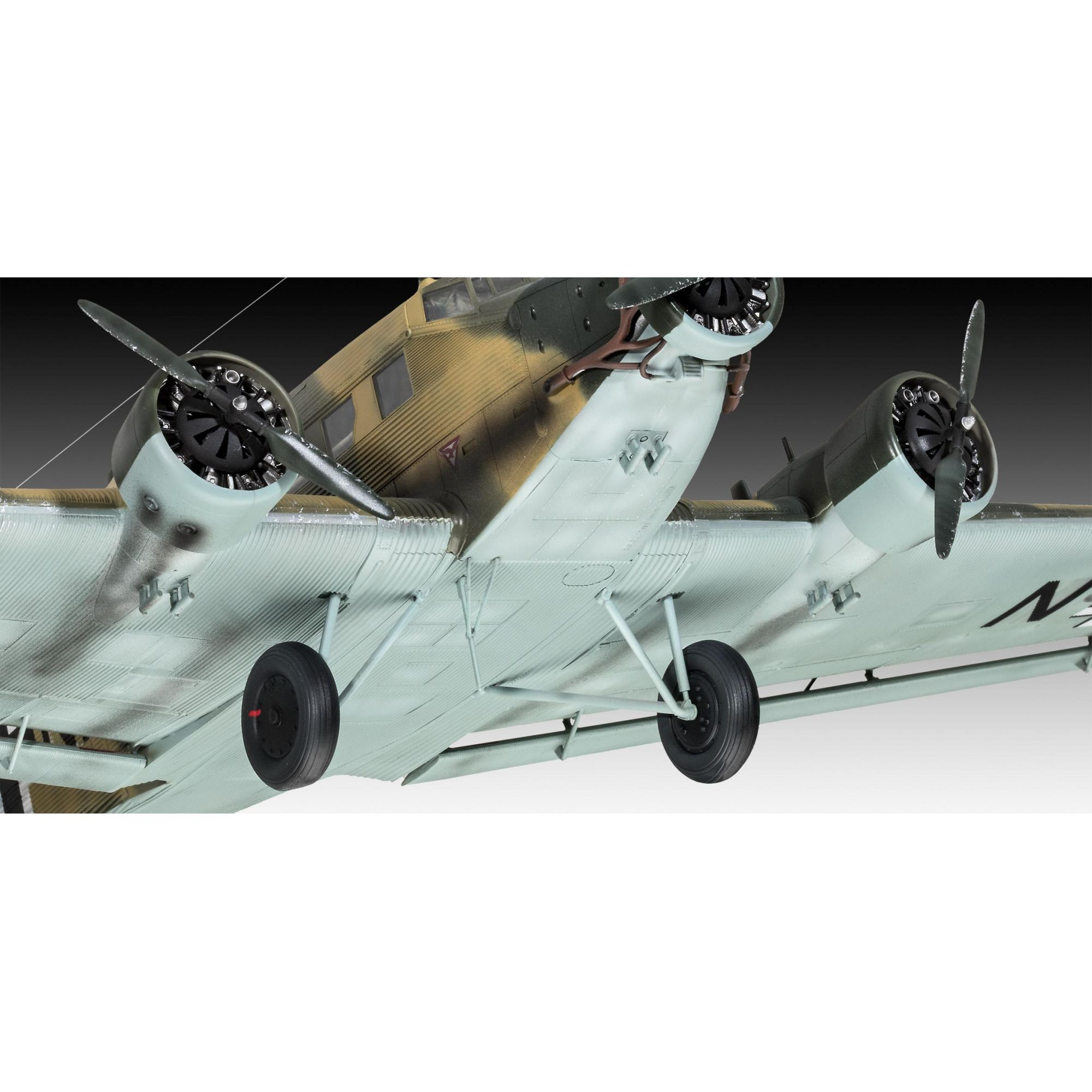 Junkers Ju52/3m Transport - 1/48 - Revell 03918  - BLIMPS COMÉRCIO ELETRÔNICO