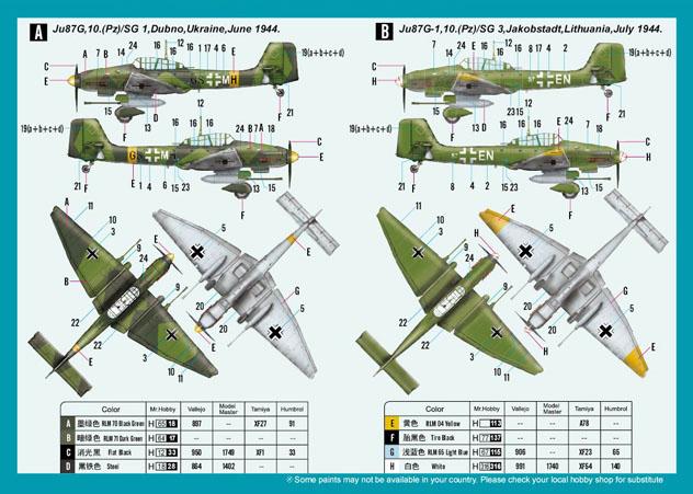 Junkers Ju87G-1 Stuka - 1/72 - HobbyBoss 80287  - BLIMPS COMÉRCIO ELETRÔNICO