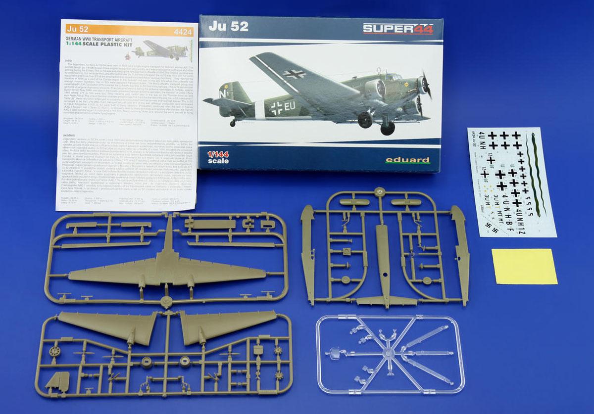 Junkers Ju 52 - 1/144 - Eduard 4424  - BLIMPS COMÉRCIO ELETRÔNICO