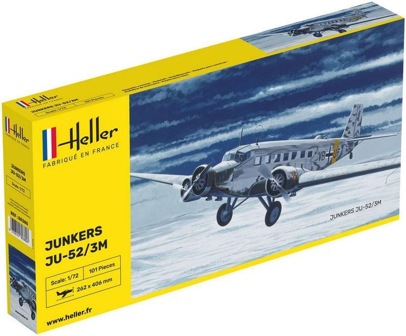 Junkers JU 52/3M - 1/72 - Heller 80380  - BLIMPS COMÉRCIO ELETRÔNICO