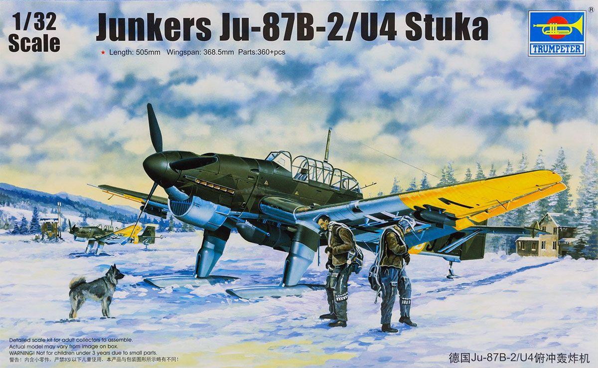 Junkers Ju-87B-2/U4 Stuka - 1/32 - Trumpeter 03215  - BLIMPS COMÉRCIO ELETRÔNICO