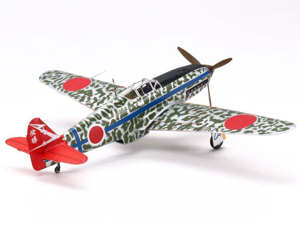 Kawasaki KI-61-Id Hien (Tony) - 1/72 - Tamiya 60789  - BLIMPS COMÉRCIO ELETRÔNICO