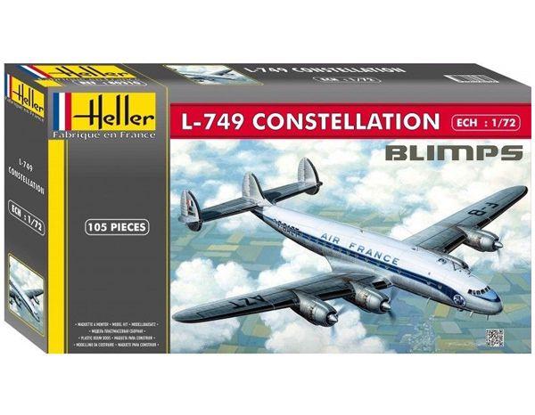 L-749 Constellation - 1/72 - Heller 80310  - BLIMPS COMÉRCIO ELETRÔNICO