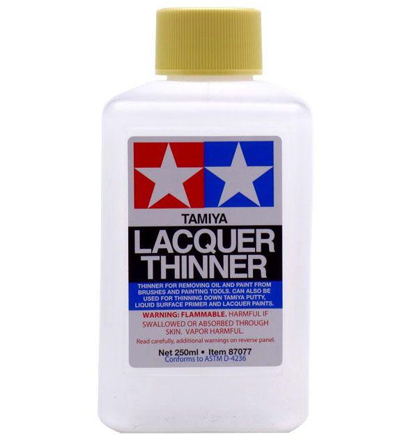 Lacquer Thinner - 250 ml - Tamiya 87077  - BLIMPS COMÉRCIO ELETRÔNICO