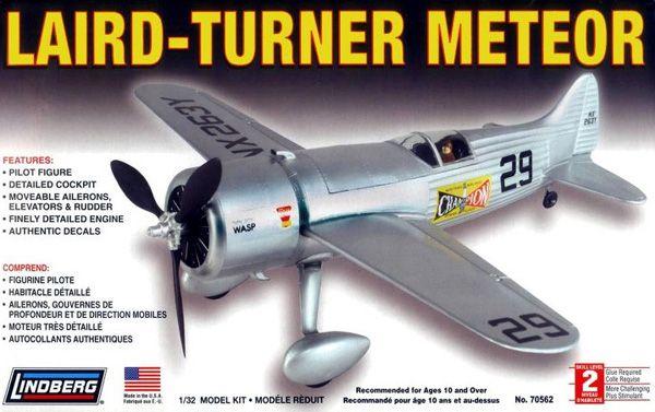 Laird-Turner Meteor - 1/32 - Lindberg 70562  - BLIMPS COMÉRCIO ELETRÔNICO