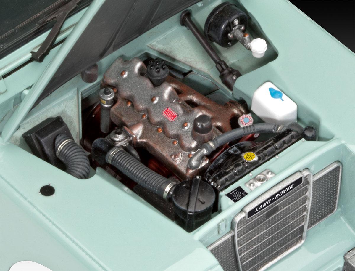 Land Rover Series III LWB - 1/24 - Revell 07047  - BLIMPS COMÉRCIO ELETRÔNICO