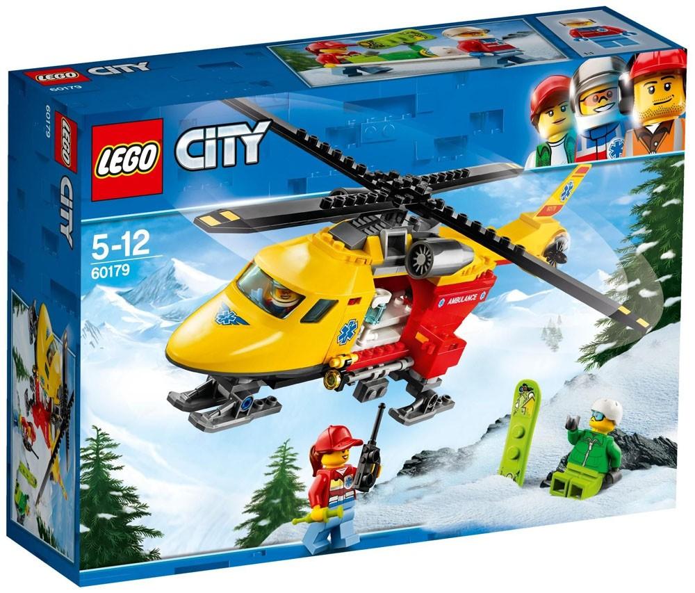 Lego City - Helicóptero-Ambulância - 60179