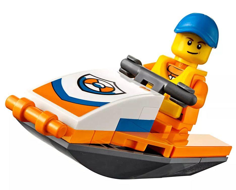 Lego City - Hidroavião de Resgate - 60164  - BLIMPS COMÉRCIO ELETRÔNICO