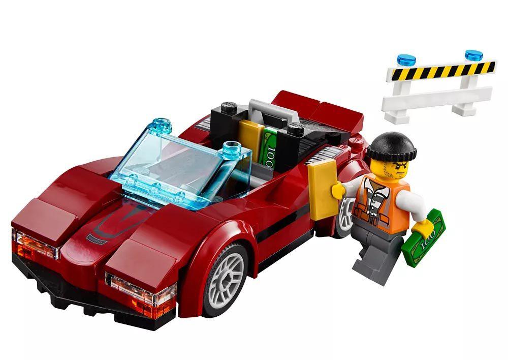 Lego City - Perseguição em Alta Velocidade - 60138  - BLIMPS COMÉRCIO ELETRÔNICO