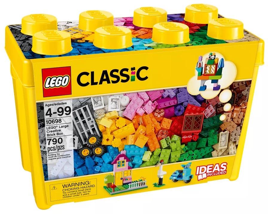 Lego Classic - Caixa Grande de Peças Criativas - 10698  - BLIMPS COMÉRCIO ELETRÔNICO