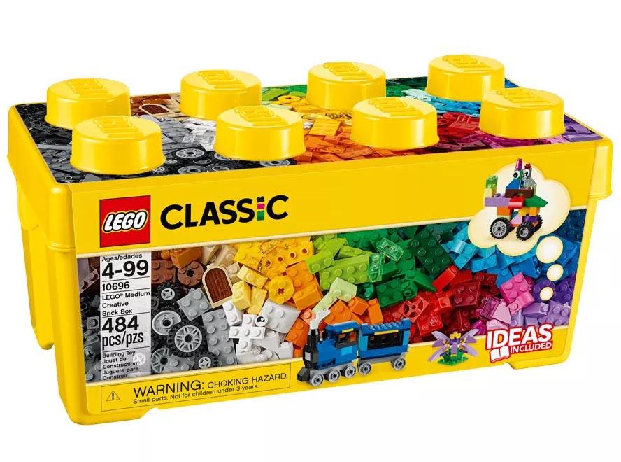 Lego Classic - Caixa Média de Peças Criativas - 10696  - BLIMPS COMÉRCIO ELETRÔNICO