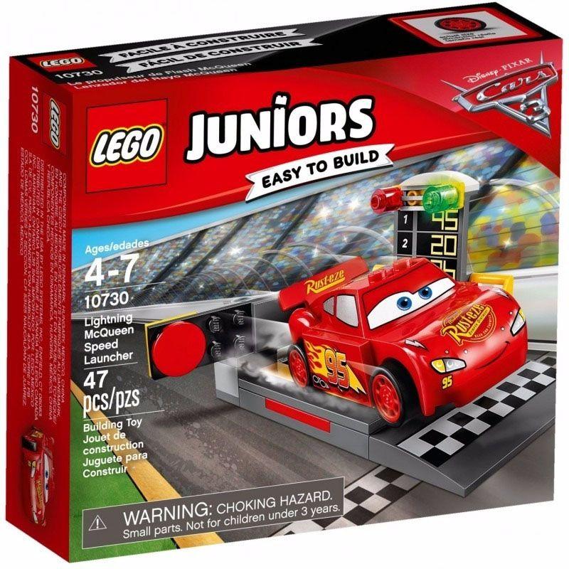 Lego Juniors - Pista de Lançamento de Relâmpago McQueen - 10730  - BLIMPS COMÉRCIO ELETRÔNICO