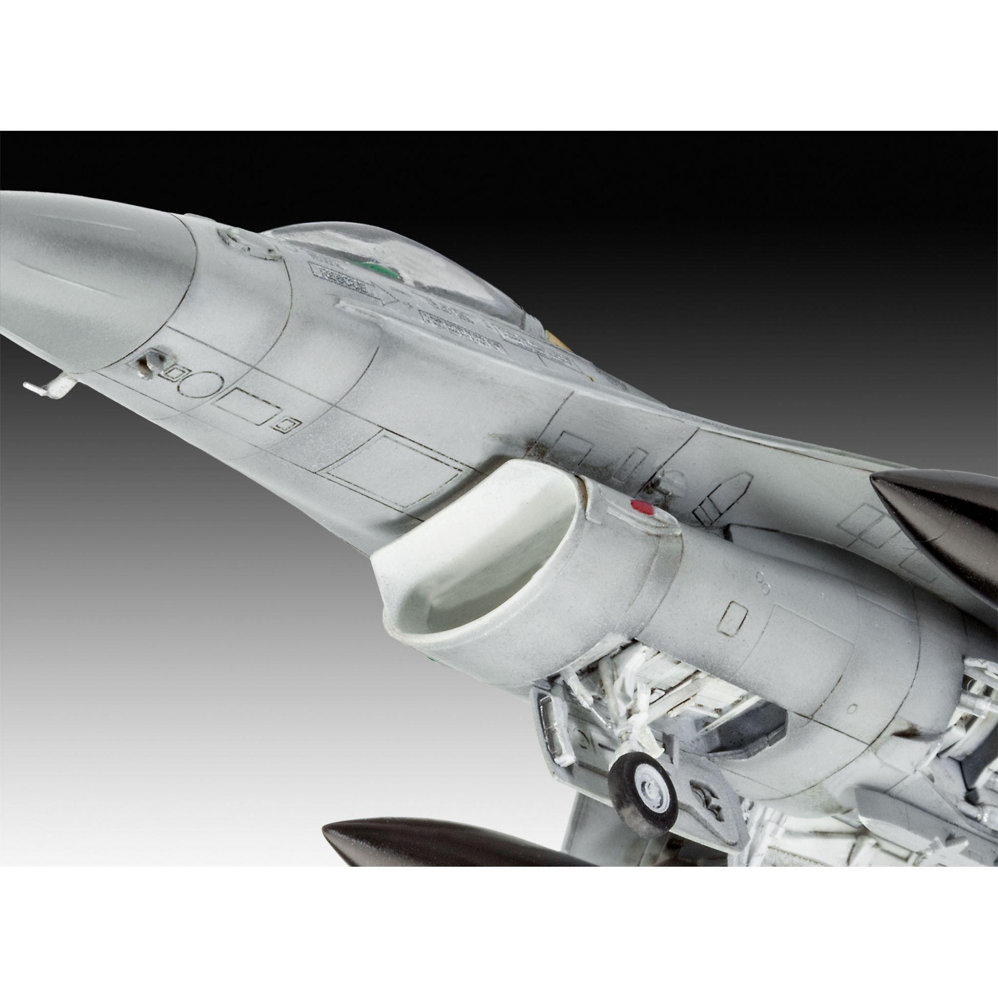 Lockheed Martin F-16 MLU - 1/72 - Revell 03905  - BLIMPS COMÉRCIO ELETRÔNICO
