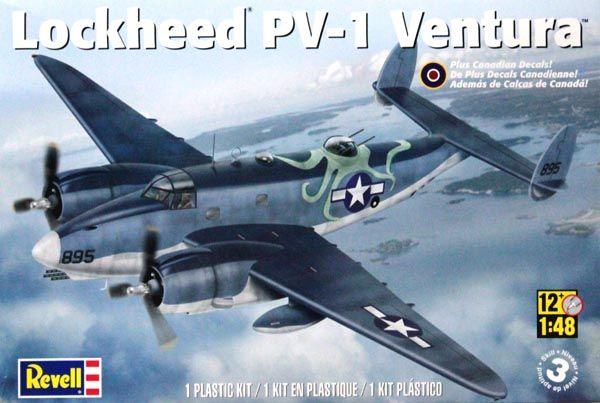 Lockheed PV-1 Ventura - 1/48 - Revell 85-5531  - BLIMPS COMÉRCIO ELETRÔNICO