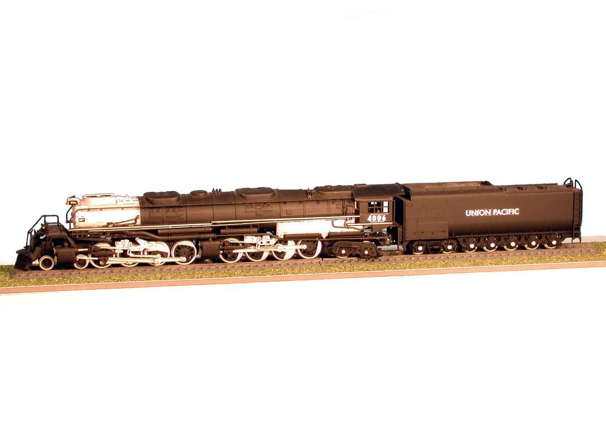 Locomotiva Big Boy - 1/87 - Revell 02165  - BLIMPS COMÉRCIO ELETRÔNICO