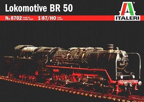 Locomotiva BR50 - 1/87 (HO) - Italeri 8702  - BLIMPS COMÉRCIO ELETRÔNICO