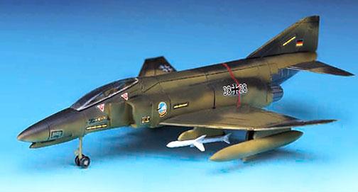 Luftwaffe F-4F Phantom II - 1/144 - Academy 12611  - BLIMPS COMÉRCIO ELETRÔNICO
