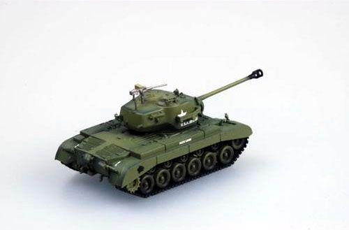 "M26 ""Pershing"" Heavy Tank - 1/72 - Easy Model 36200  - BLIMPS COMÉRCIO ELETRÔNICO"
