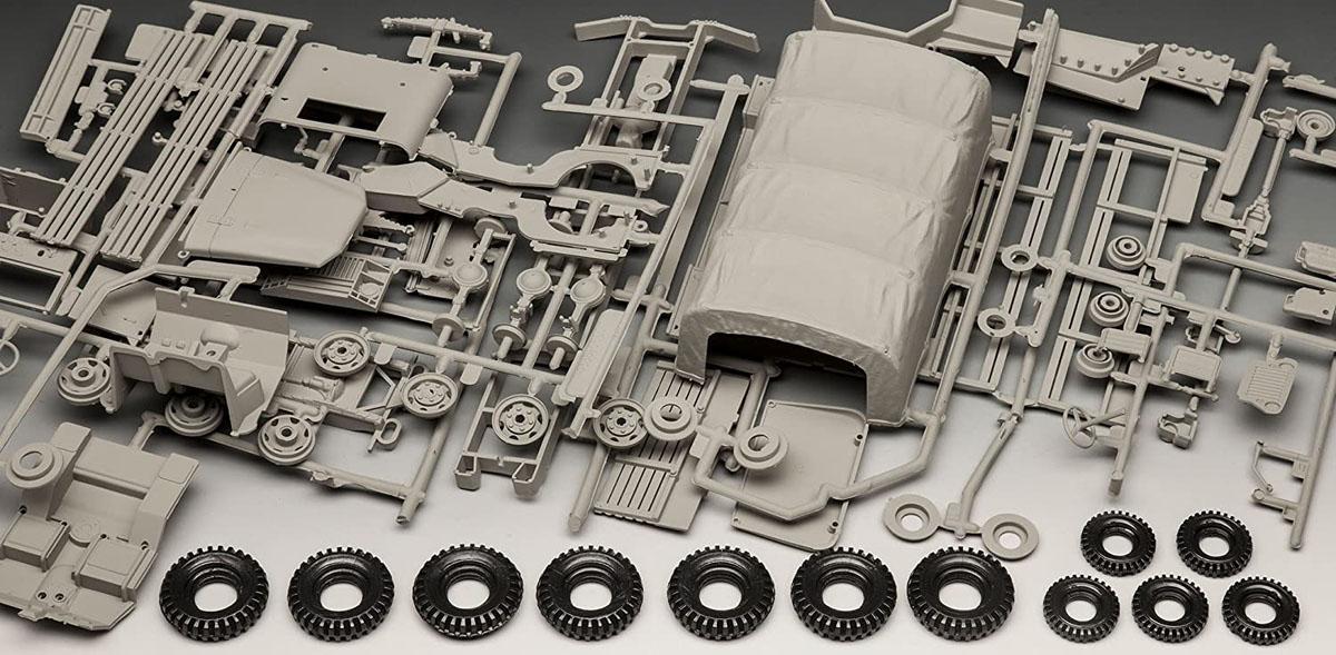 M34 Tactical Truck + Off-Road Vehicle - 1/35 - Revell 03260  - BLIMPS COMÉRCIO ELETRÔNICO