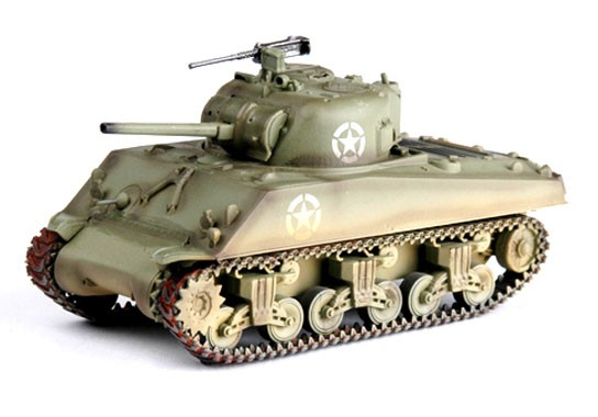 M4A3 Sherman Middle Tank - 1/72 - Easy Model 36255  - BLIMPS COMÉRCIO ELETRÔNICO