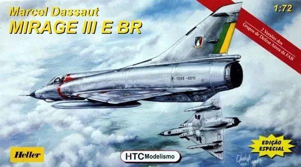 Marcel Dassault Mirage III E BR - 1/72 - HTC 72003  - BLIMPS COMÉRCIO ELETRÔNICO