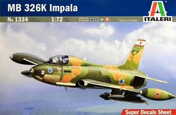MB 326K Impala - 1/72 - Italeri 1334  - BLIMPS COMÉRCIO ELETRÔNICO