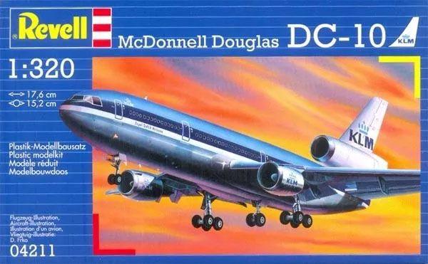 McDonnell Douglas DC-10 KLM - 1/320 - Revell 04211  - BLIMPS COMÉRCIO ELETRÔNICO