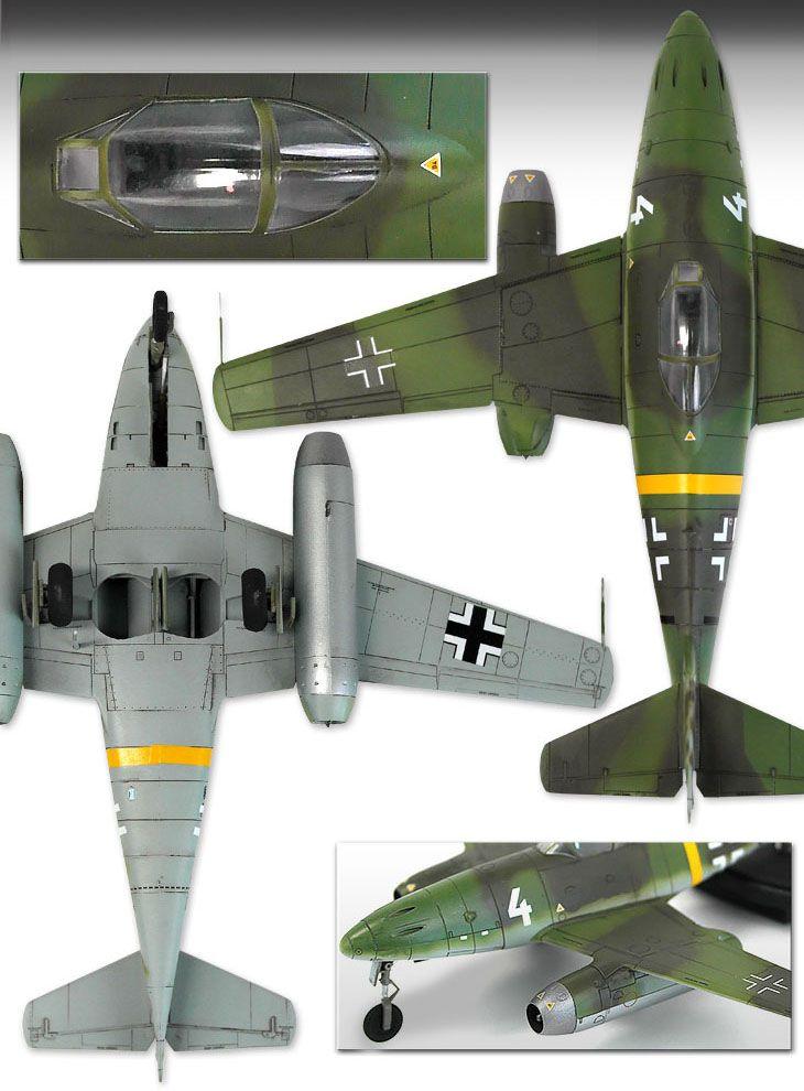 """Me262A-1/2 """"Last Ace"""" - 1/72 - Academy 12542  - BLIMPS COMÉRCIO ELETRÔNICO"""