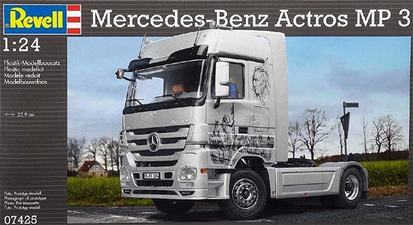 Mercedes-Benz Actros MP 3 - 1/24 - Revell 07425  - BLIMPS COMÉRCIO ELETRÔNICO