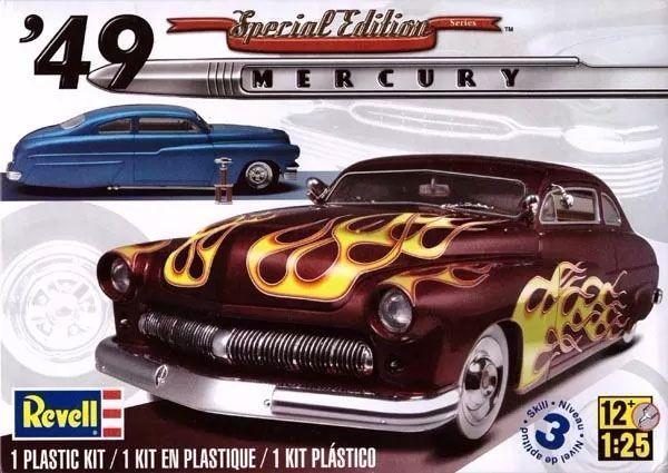 Mercury Custom Coupe 1949 - 1/25 - 85-2860  - BLIMPS COMÉRCIO ELETRÔNICO