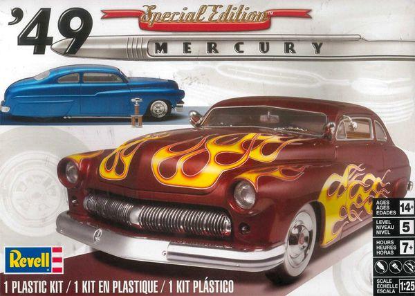 Mercury Custom Coupe 1949 - 1/25 - Revell 85-2860  - BLIMPS COMÉRCIO ELETRÔNICO