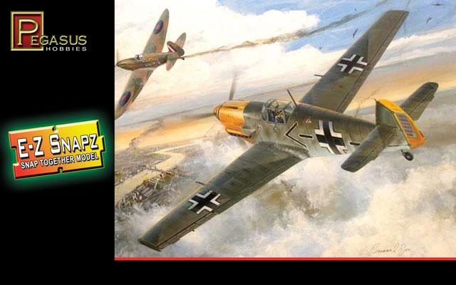 Messerschmitt Bf-109E4 - 1/48 - Pegasus 8412  - BLIMPS COMÉRCIO ELETRÔNICO