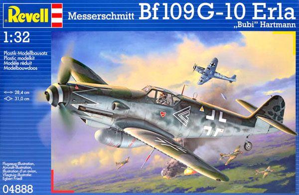 Messerschmitt Bf109 G-10 Erla - 1/32 - Revell 04888  - BLIMPS COMÉRCIO ELETRÔNICO