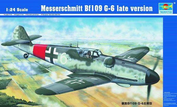 Messerschmitt Bf109 G-6 (Late version) - 1/24 - Trumpeter 02408  - BLIMPS COMÉRCIO ELETRÔNICO