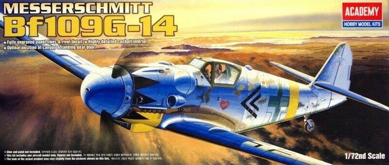 Messerschmitt Bf109G-14 - 1/72 - Academy 12454  - BLIMPS COMÉRCIO ELETRÔNICO
