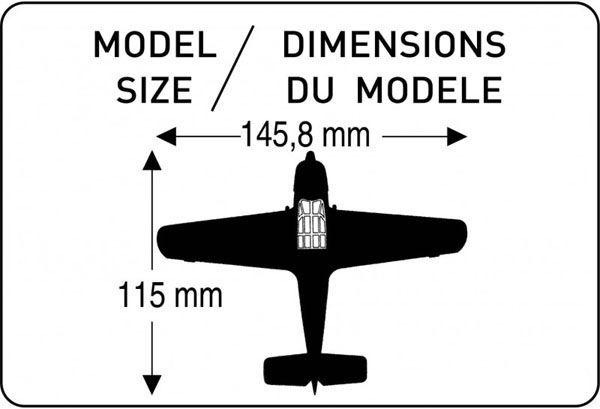 Messerschmitt Bf 108B ´Taifun´ - 1/72 - Heller 80231  - BLIMPS COMÉRCIO ELETRÔNICO