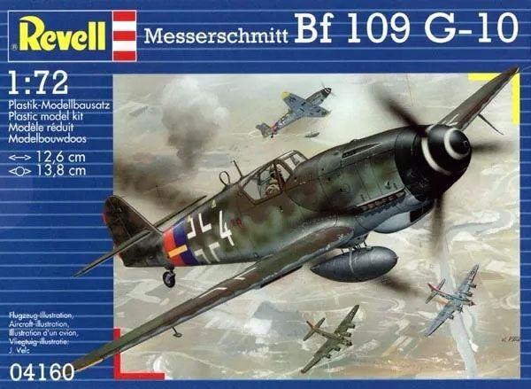 Messerschmitt Bf 109 G-10 - 1/72 - Revell 04160  - BLIMPS COMÉRCIO ELETRÔNICO