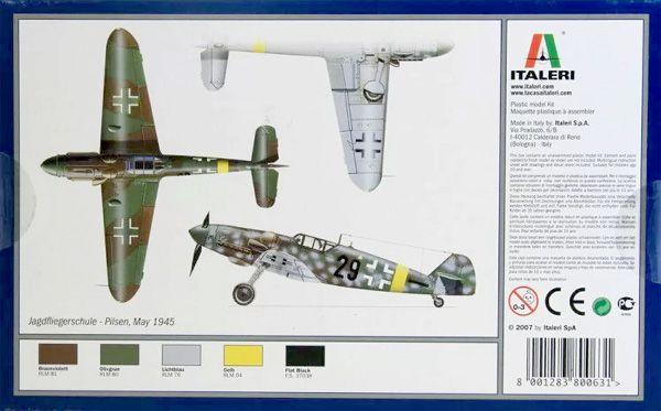 Messerschmitt BF-109 G-6 - 1/72 - Italeri 063  - BLIMPS COMÉRCIO ELETRÔNICO