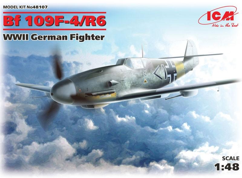 Messerschmitt Bf 109F-4/R6 - 1/48 - ICM 48107  - BLIMPS COMÉRCIO ELETRÔNICO