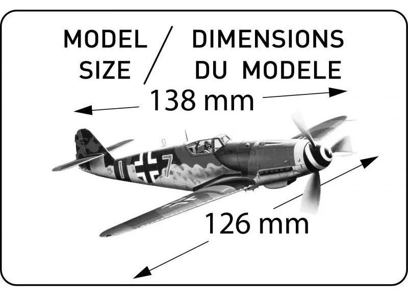Messerschmitt Me109 K-4 - 1/72 - Heller 80229  - BLIMPS COMÉRCIO ELETRÔNICO
