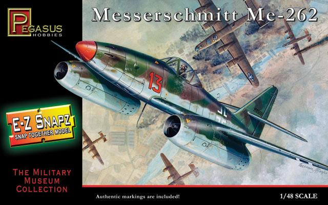 Messerschmitt Me-262 - 1/48 - Pegasus 8415  - BLIMPS COMÉRCIO ELETRÔNICO
