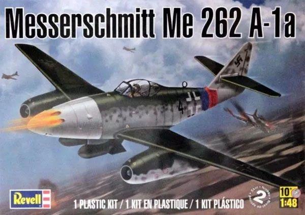 Messerschmitt Me 262 A-1a - 1/48 - Revell 85-5322  - BLIMPS COMÉRCIO ELETRÔNICO