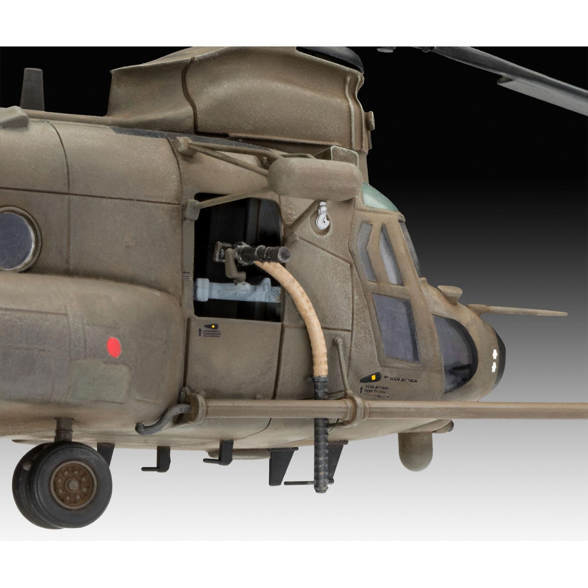 MH-47E Chinook - 1/72 - Revell 03876  - BLIMPS COMÉRCIO ELETRÔNICO
