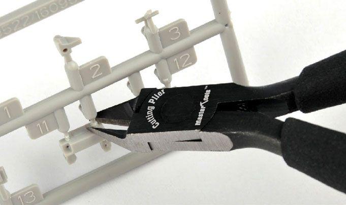 Micro alicate de corte para modelismo - Master Tools 09968  - BLIMPS COMÉRCIO ELETRÔNICO